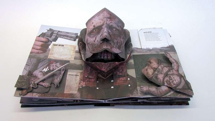 libro pop up The walking dead