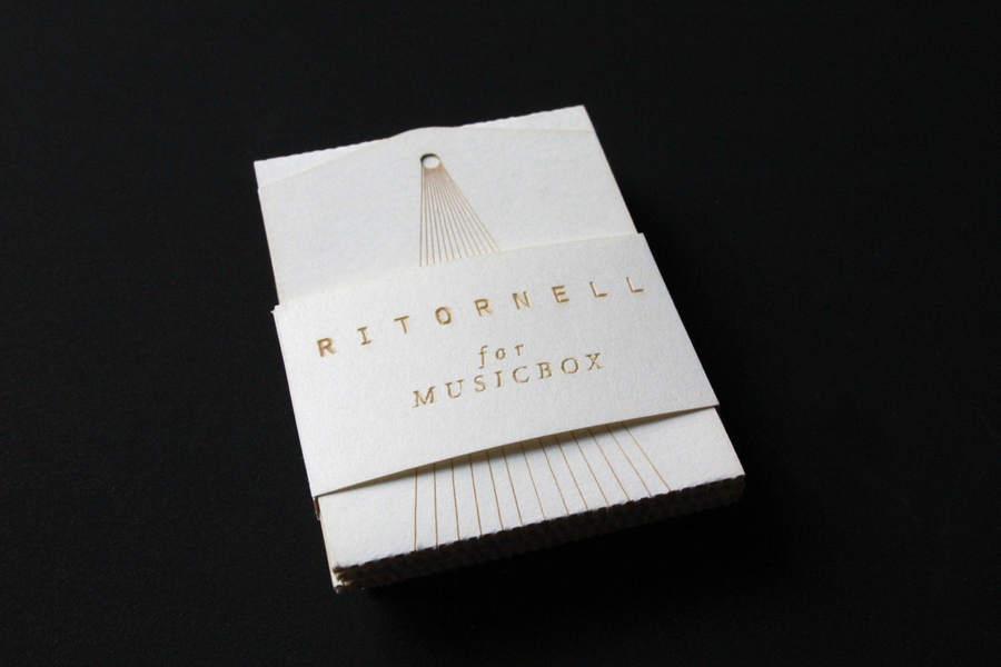 tarjeta de presentación musical