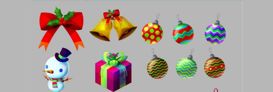 Adornos navide os gratis para editar en photoshop - Adornos navidenos para comercios ...