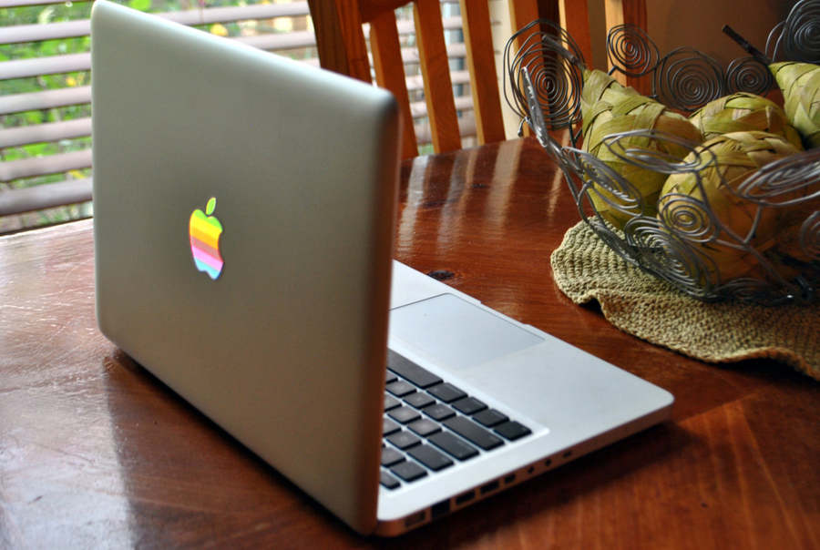 stikers transparentes macbook