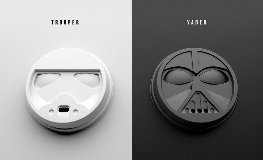 vaso para tomar café de Star Wars