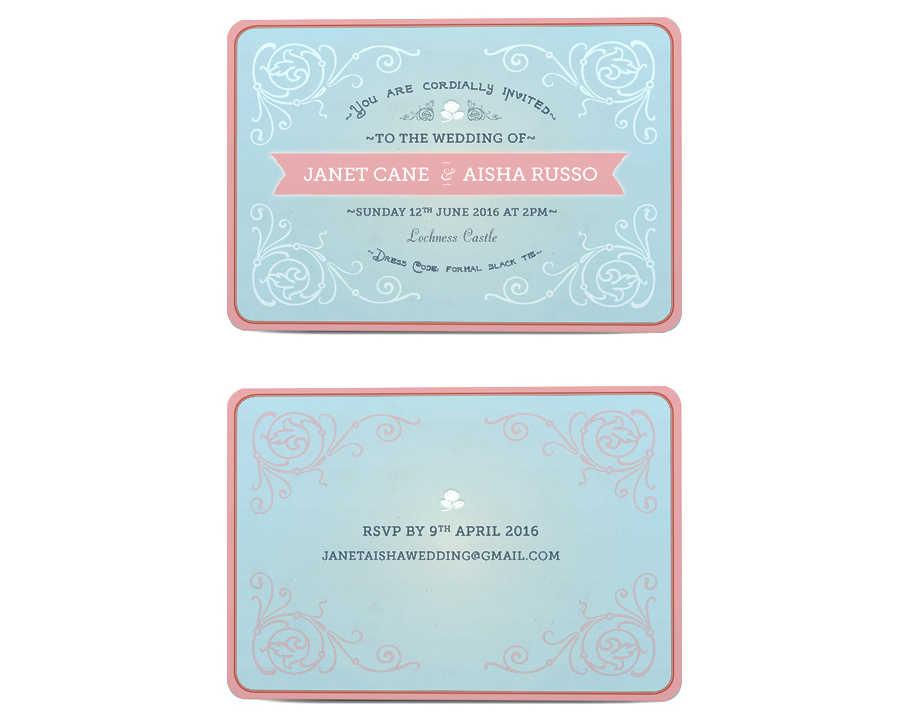 invitaciones de boda hechas con indesing