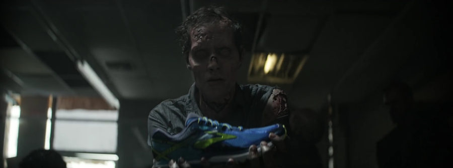 comercial publicitario creativo con zombies