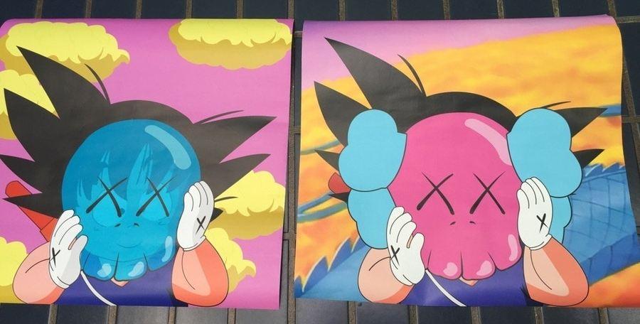 dos versiones Goku