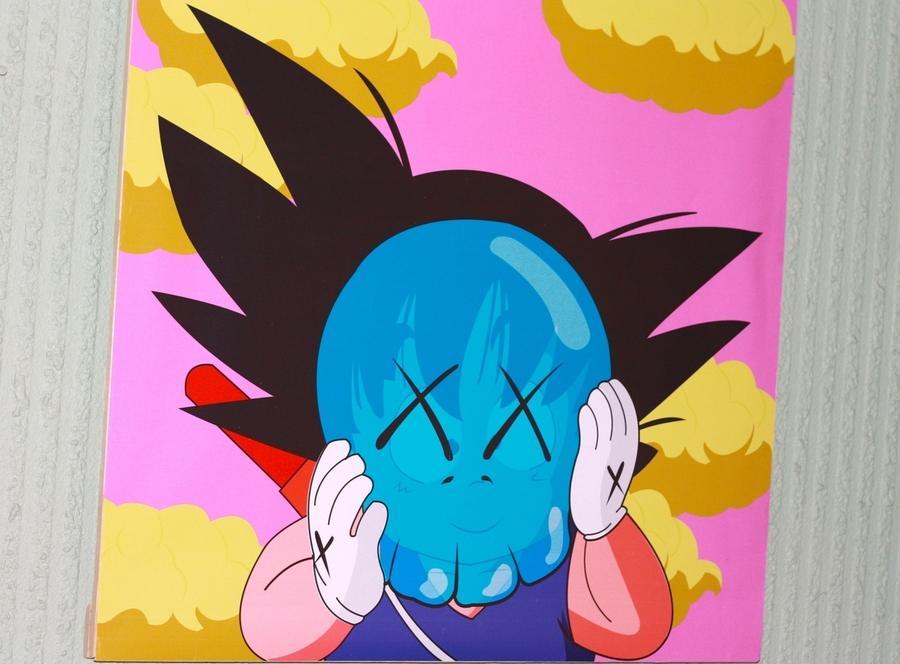 Goku KAWS originalfake