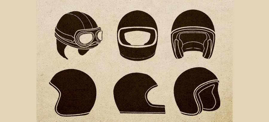 cascos clásicos en vectores