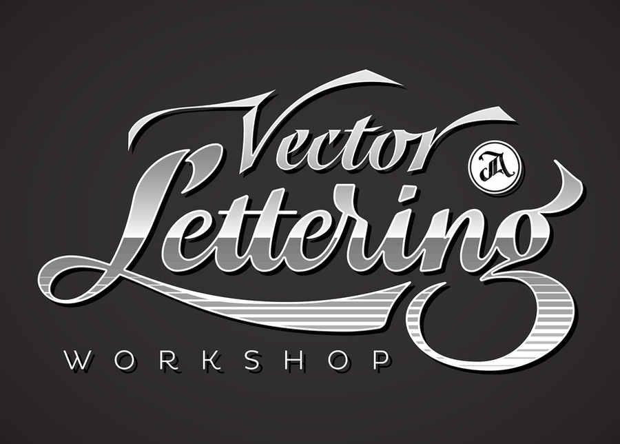 taller de vectorizado de lettering