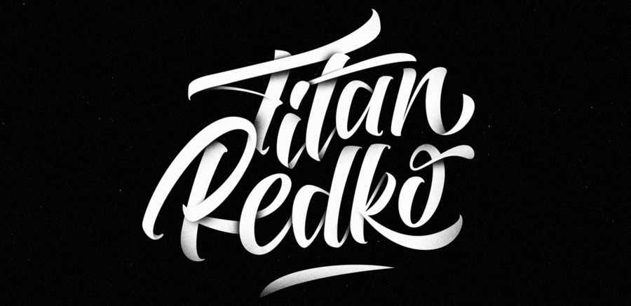 logotipos animados hechos con lettering