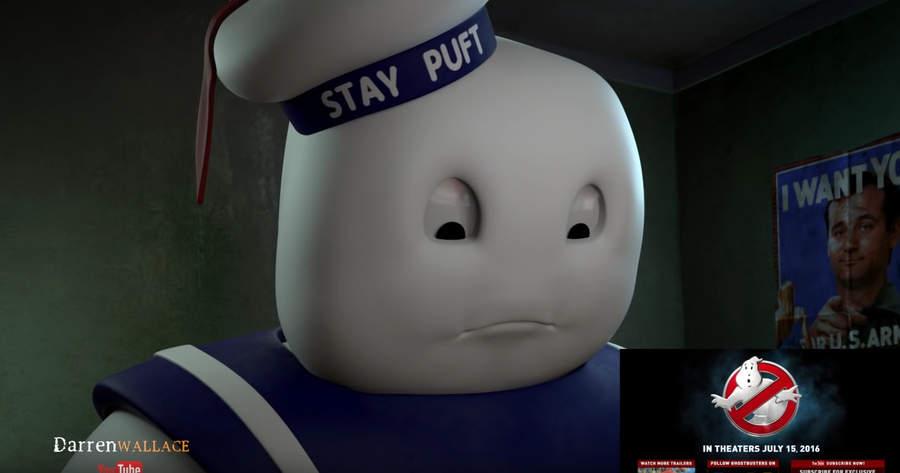 marshmallow man reacciona al trailer