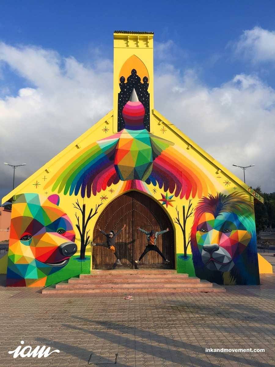murales en iglesia