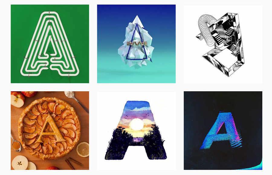 reto 36 tipografías