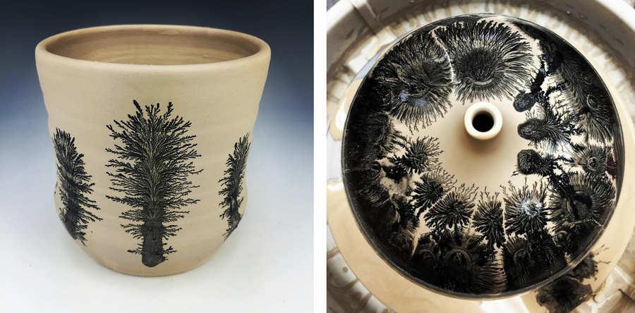 técnica para pintar en cerámica