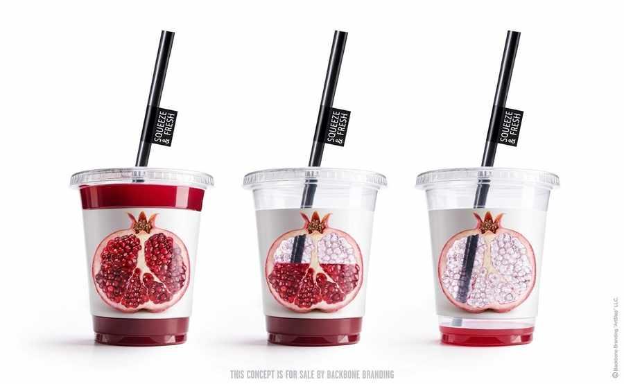 vasos para jugo natural
