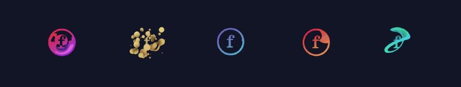 animación del logo de fubiz