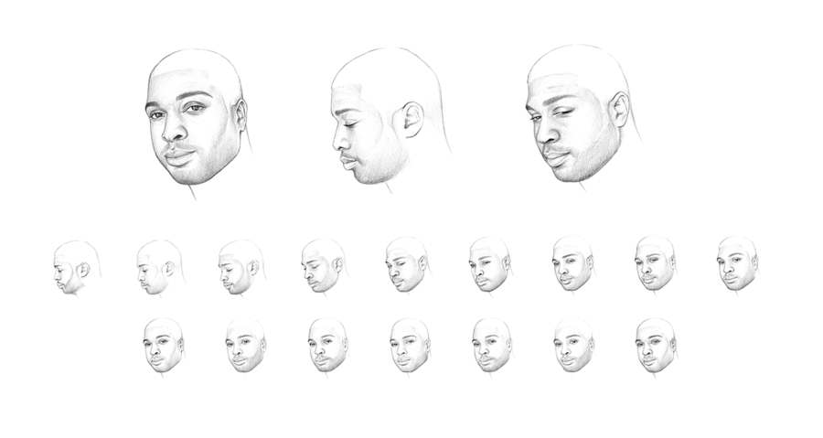 animaciones de retratos