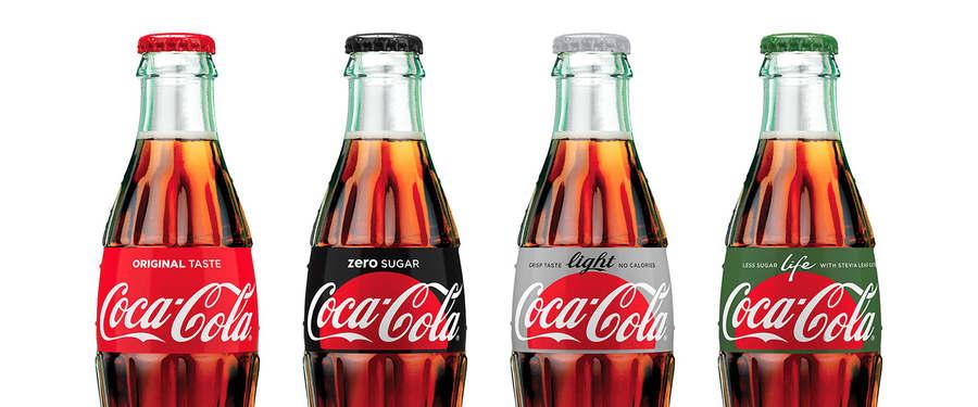nuevas botellas Coca-Cola