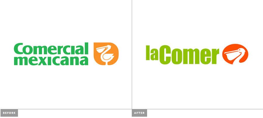 nuevo logotipo de La comer