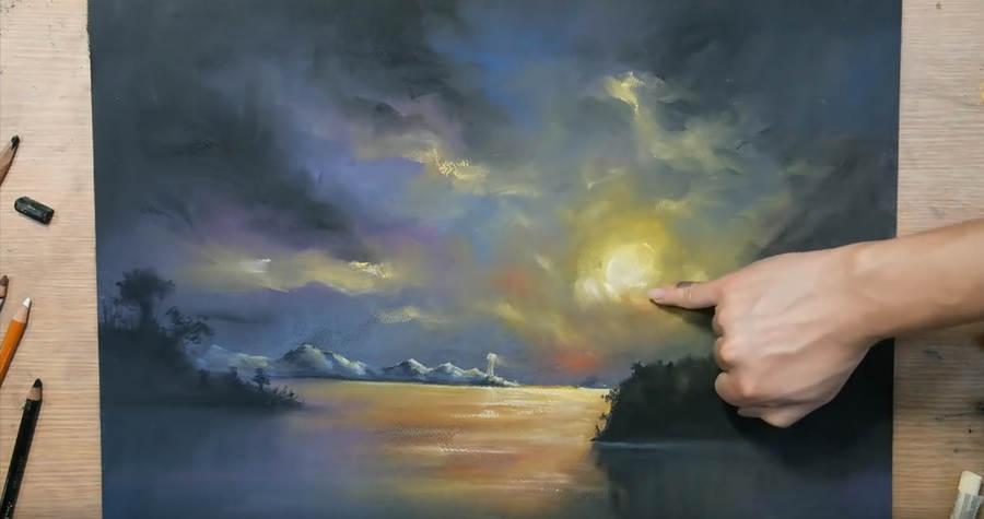 pinturas hechas con dedos