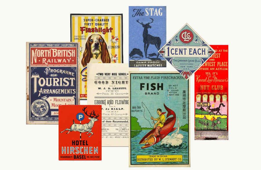 tipografía vintage hechas con css