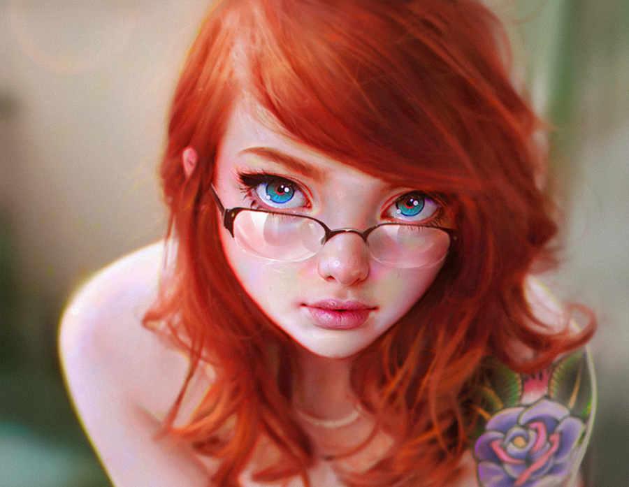 dibujos realistas de mujeres