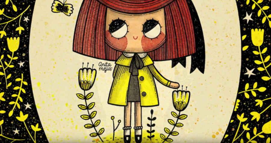 ilustración de Anita Mejía
