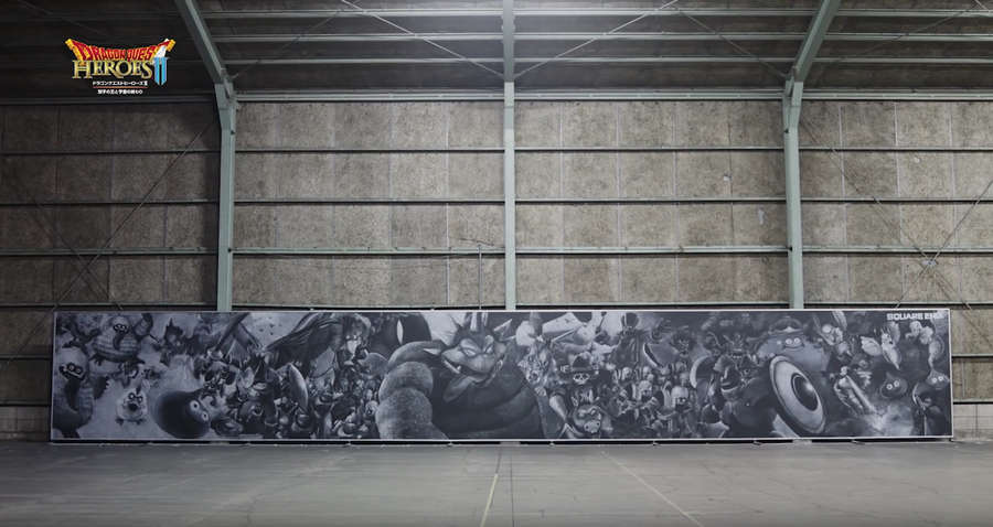 mural hecho con gis
