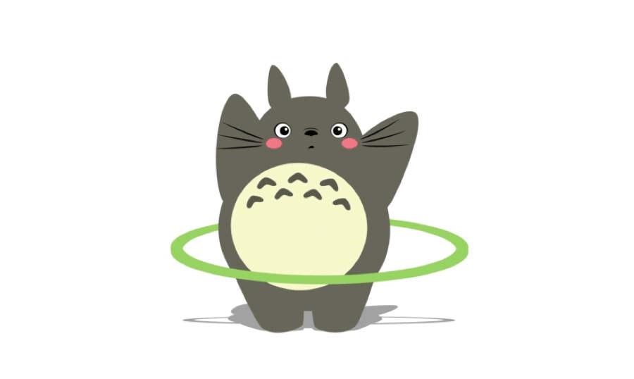 animación totoro