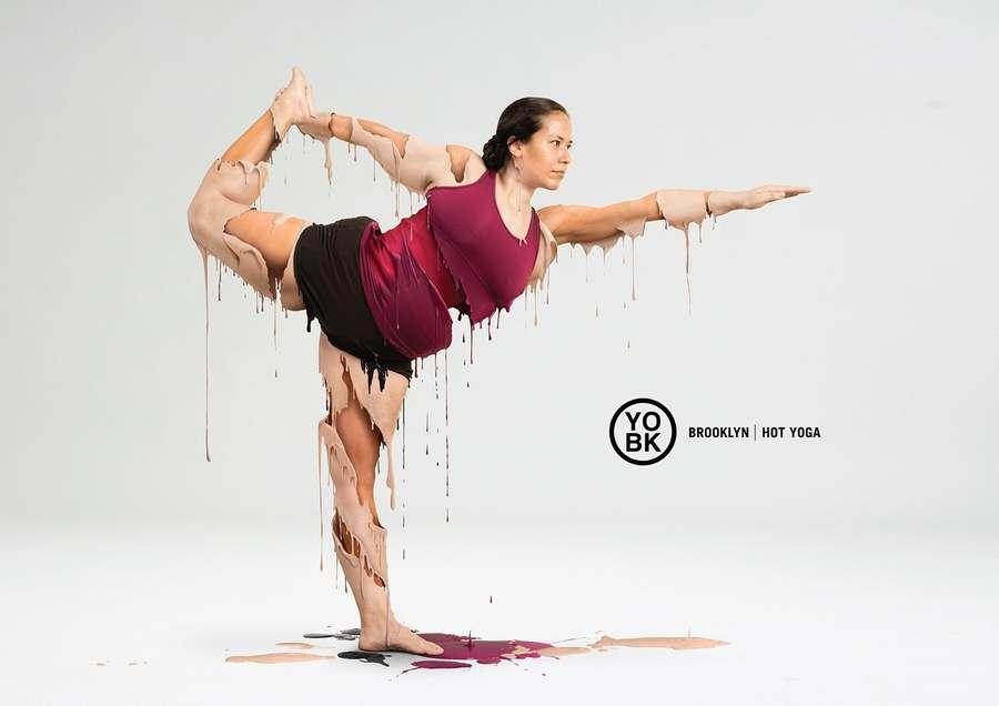 publicidad hot yoga