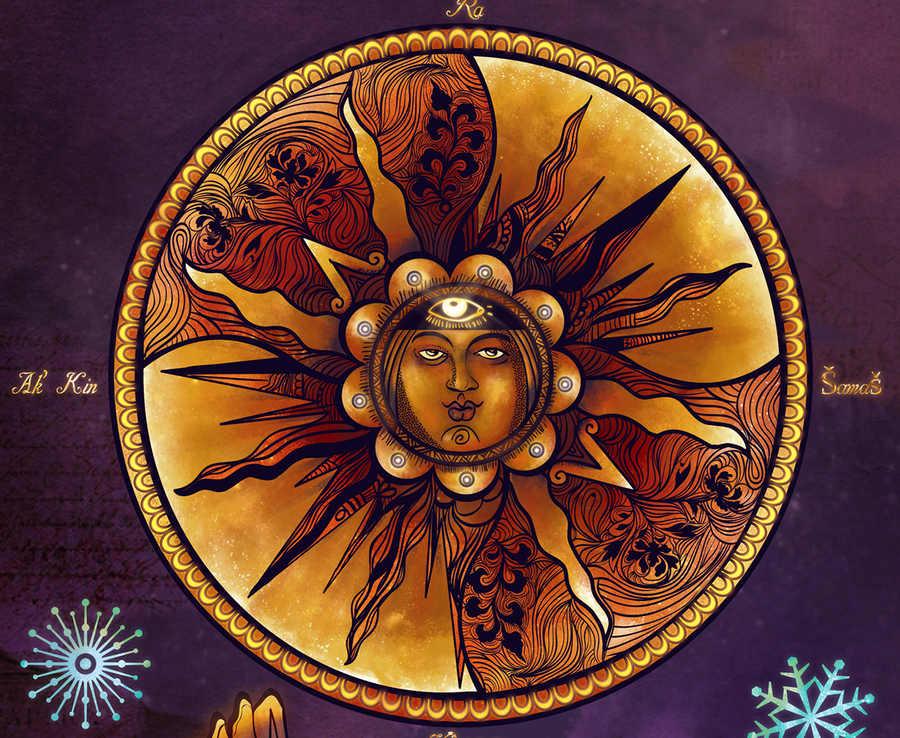 ilustraciones de una mexicana