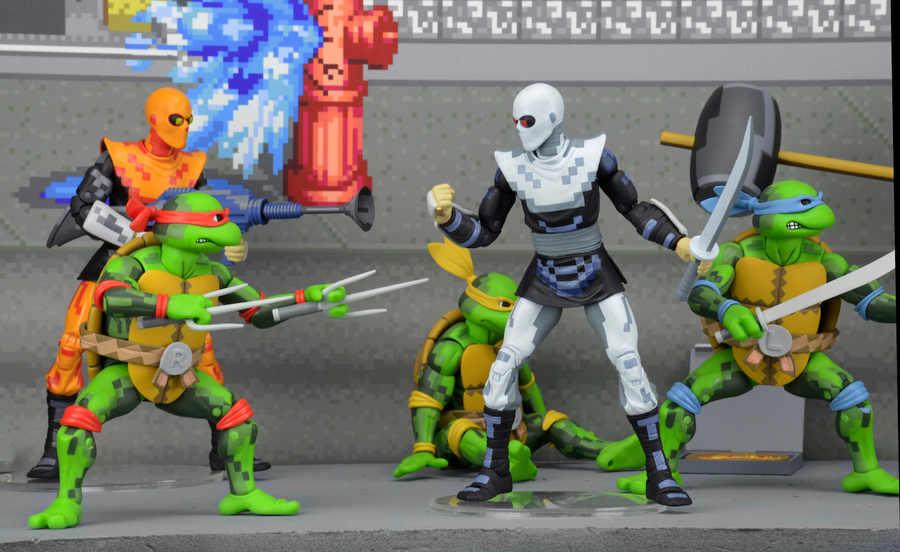 muñecos tortugas ninja