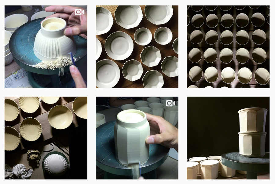 talla en porcelana