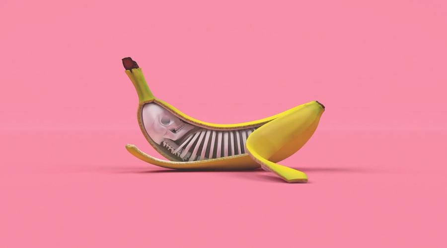 animaciones con bananas