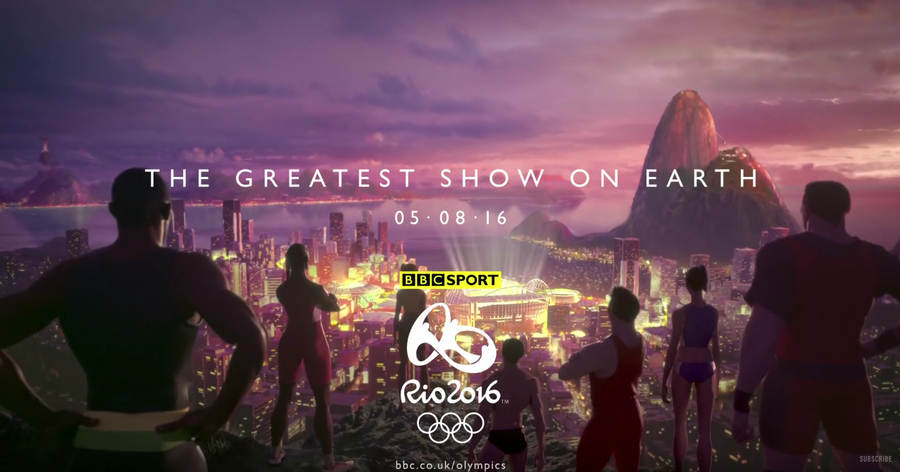 comercial bbc sports Rio 2016