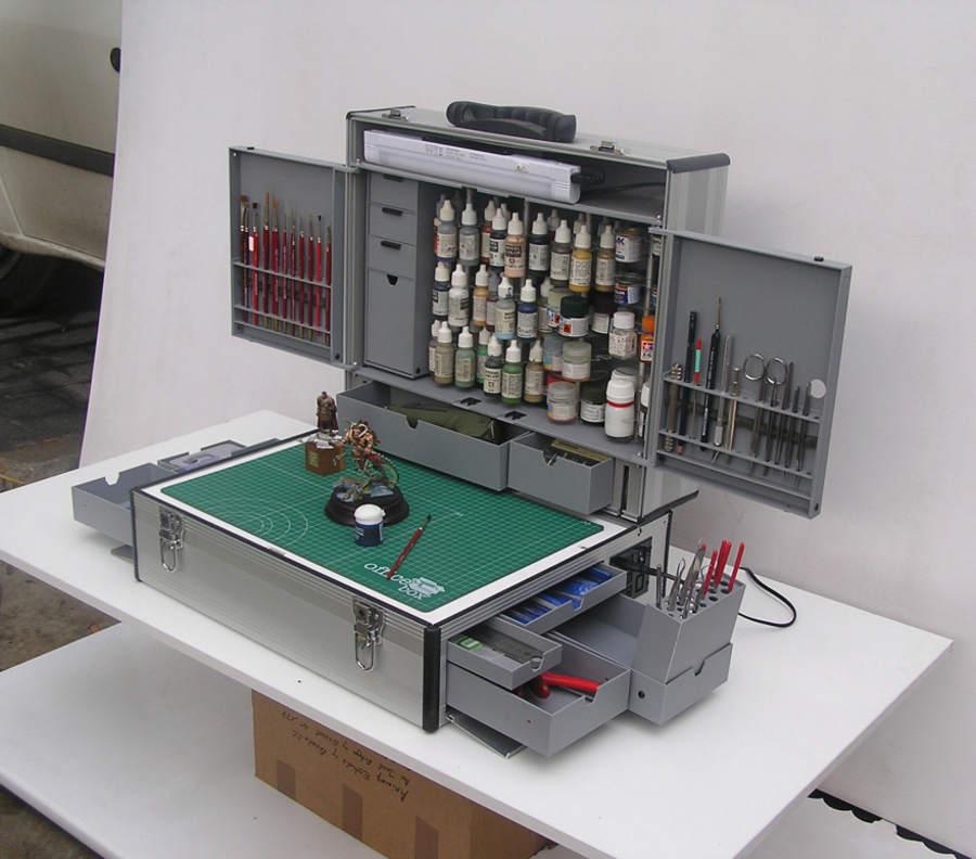 espacio de trabajo dentro de un portafolio