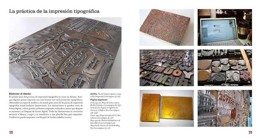 libro impresión tipográfica