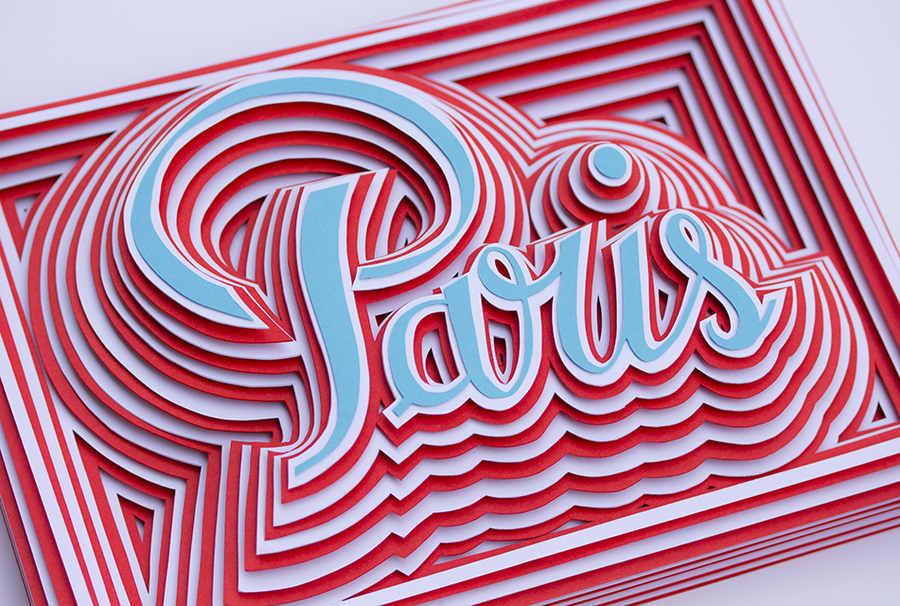 patrones hechos con papel