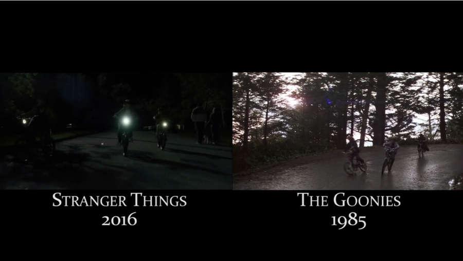 referencias de películas en Stranger Things
