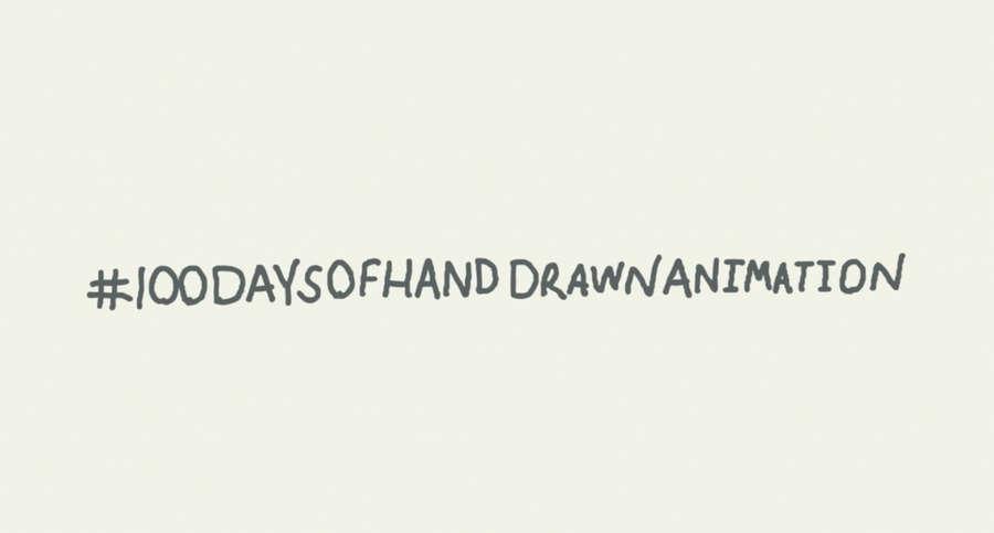 100 days of hand draw