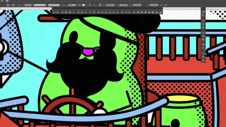 curso para aprender a hacer ilustraciones