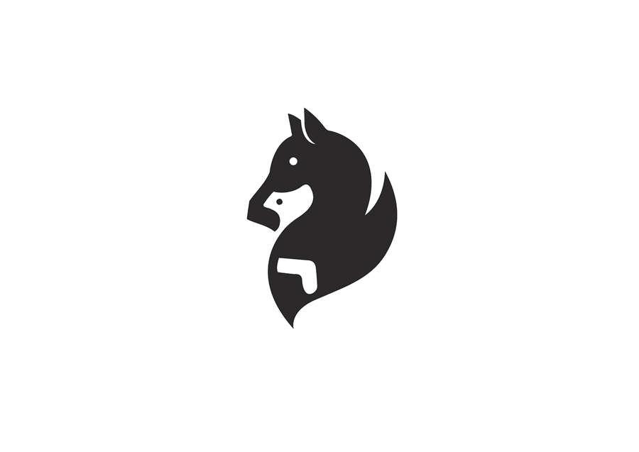 logotipos con espacio negativo