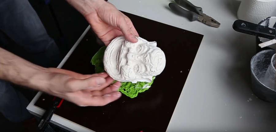 modelos en 3D de plástico