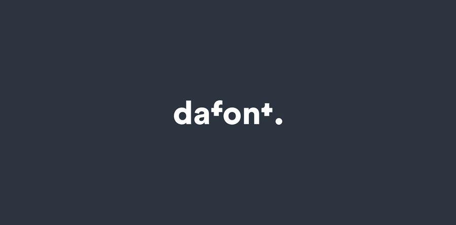 nuevo logotipo de dafont