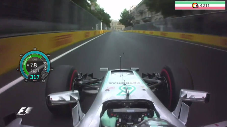ajustes en el volante de un auto en la F1