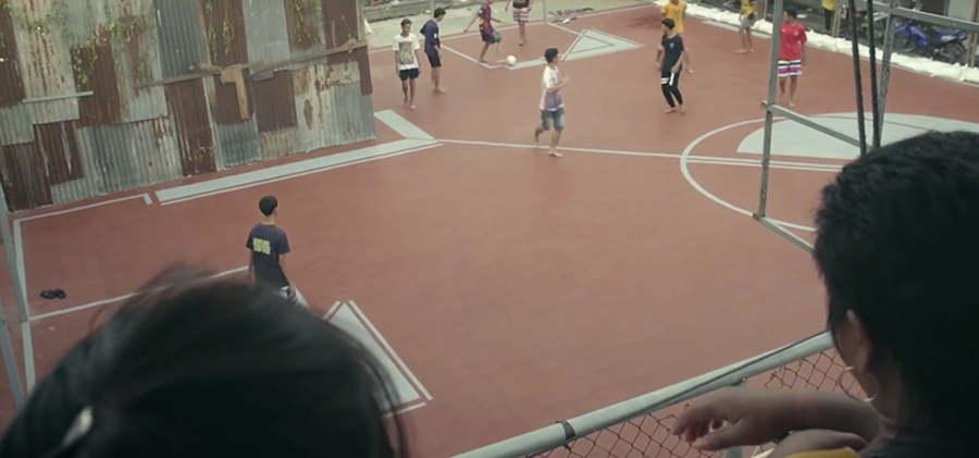 canchas de futbol no rectangulares
