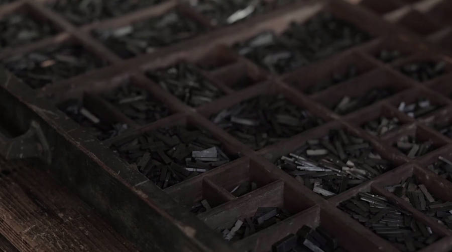 fabricación de punzón con letra