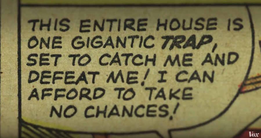 origen de comic book font