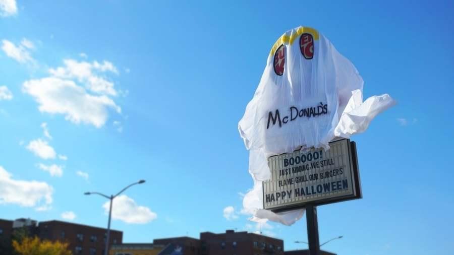Burger King festeja halloween
