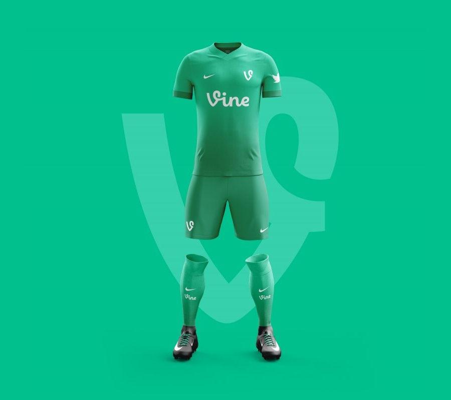 87f6979f1 Camisetas de equipos de fútbol inspiradas en app de redes sociales
