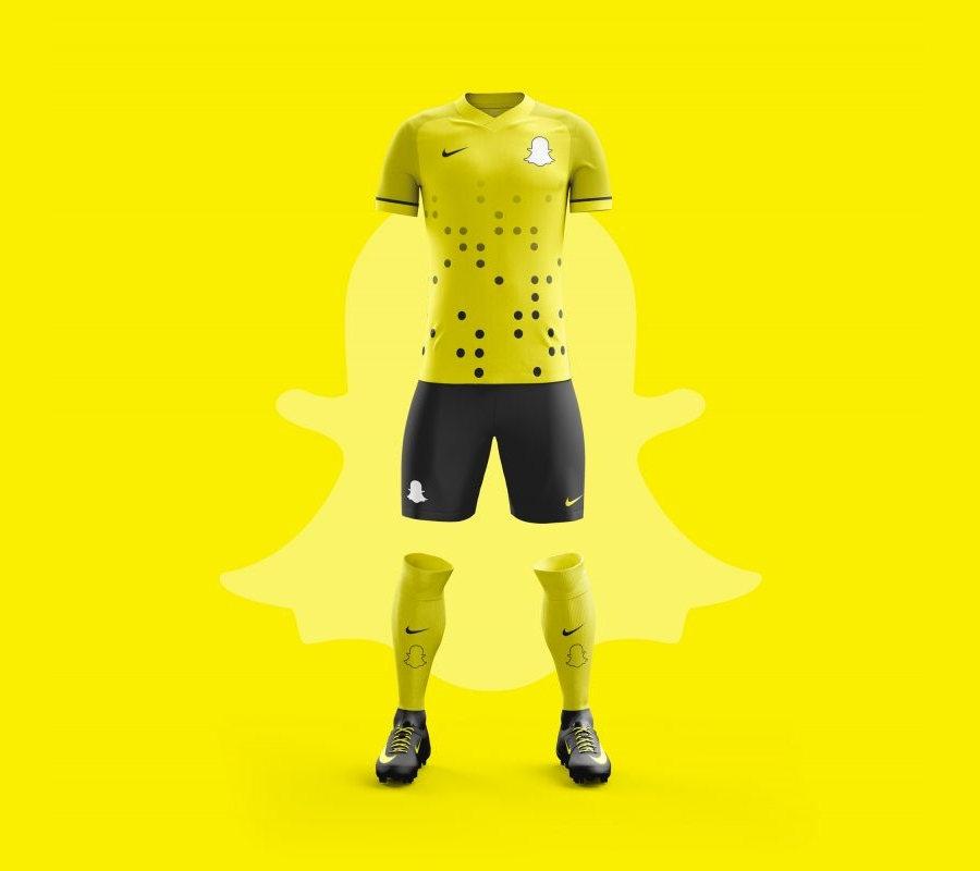 camisetas de fútbol de aplicaciones