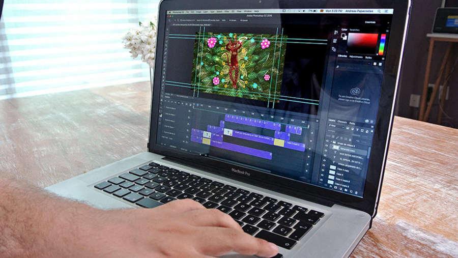 curso de animación 2D con Photoshop